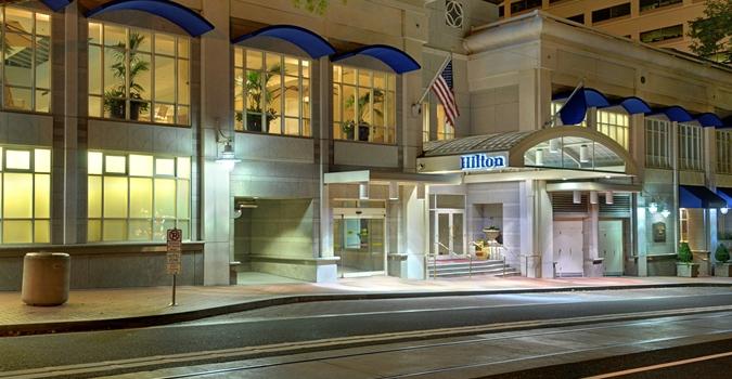 Portland Hilton hotel
